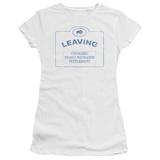 Juniors: Warehouse 13-Now Leaving Univille T-Shirt