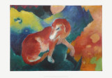 The Red Dog, c.1911 Prints by Franz Marc