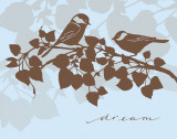 Chickadee Dream Print by Sharyn Sowell