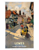 Lewes, BR, c.1955 Posters