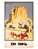 Indian State Railways: See India Posters
