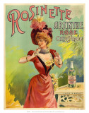 Absinthe Rosinette, c.1900 Posters