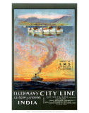 Ellermans City Line, Glasgow and Liverpool Prints