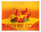 Yorkshire Coast, LNER, c.1923-1947 Prints