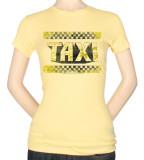 Juniors: Taxi-Run Down Taxi T-Shirt
