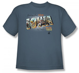 Youth: American Pickers-Greetings From Iowa Shirts