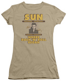 Juniors: Sun Records-Sun Ad T-shirts