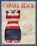 Cabana Beach Prints by Paul Brent