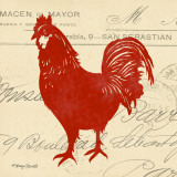 Tuscan Rooster II Prints by Sharyn Sowell
