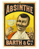 Absinthe Barth & Cie, c.1890 Prints