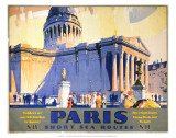 Paris, Short Sea Routes, SR, c.1932 Posters by Frederick Griffin