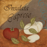 Insalata Caprese Art by Jane Carroll