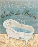 Parisian Bath I Poster by Paul Brent