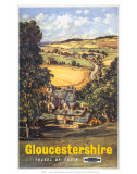 Gloucestershire, BR, c.1960 Poster