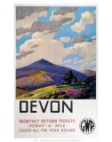 Devon GWR, c.1937 Prints