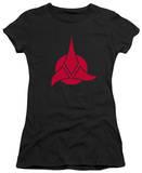 Juniors: Star Trek-Klingon Logo T-shirts
