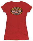 Juniors: Survivor-China T-shirts