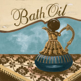 Bath Accessories II Print by Gregory Gorham