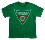 Youth: Batman BB-Green Arrow Shield Camiseta