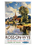 Ross-on-Wye, BR (WR), c.1951 Print