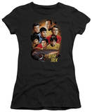 Juniors: Star Trek-Heart Of The Enterprise T-shirts