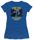 Juniors: Star Trek Original-The Enterprise Incident T-Shirt
