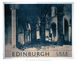 Edinburgh: St Giles Cathedral, LNER, c.1930 Prints