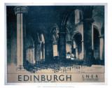 Edinburgh: St Giles Cathedral, LNER, c.1930 Prints