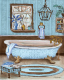 Tranquil Tub I Art by Todd Williams