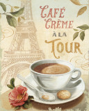 Cafe in Europe II Láminas por Lisa Audit