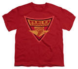 Youth: Batman BB-Red Tornado Shield Shirts