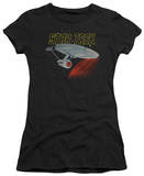 Juniors: Star Trek-Retro Enterprise T-Shirt
