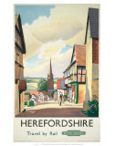 Herefordshire, c.1980 Posters
