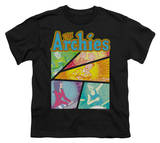 Youth: Archie Comics-The Archies Colored T-shirts