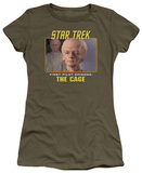 Juniors: Star Trek Original-The Cage T-Shirt