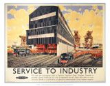 New Ore Discharging Plant at General Terminus Quay, Glasgow, c.1948-1965 Prints