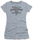 Juniors: Taxi-Property Of Sunshine Cab T-shirts