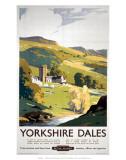 Yorkshire Dales, BR (NER), c.1953 - Reprodüksiyon