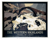 The Western Highlands, LNER, c.1923-1947 Prints