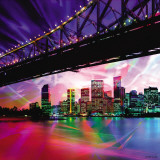 Colorful Bridge Affiches par Marcus