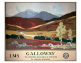 Galloway, LMS, c.1927 Prints