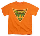 Youth: Batman BB-Aquaman Shield T-Shirt