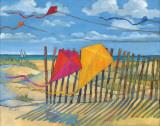 Beach Kites Yellow
