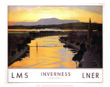 Inverness, LMS/LNER, c.1923-1947 Posters