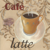 Café Latte Prints by Paige Davis