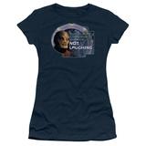 Juniors: Stargate1-Not Laughing T-Shirt