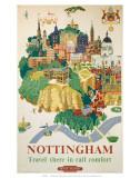 Nottingham, BR, c.1953 Print