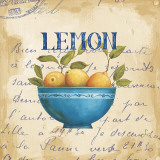 Zest of Lemons Art by Daphne Brissonnet