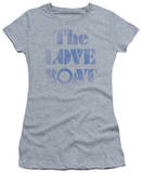 Juniors: The Love Boat-Distressed T-Shirt