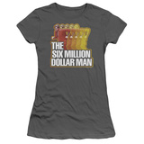 Juniors: The Six Million Dollar Man-Run Fast T-shirts